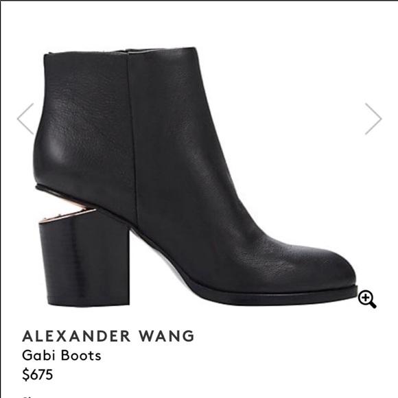 c00660a80 Alexander Wang Shoes   Gabi Boots In Rose Gold   Poshmark